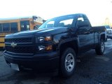 2014 Black Chevrolet Silverado 1500 WT Regular Cab #90369563