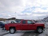 2014 Victory Red Chevrolet Silverado 1500 LTZ Z71 Double Cab 4x4 #90369555