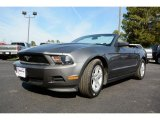 2011 Sterling Gray Metallic Ford Mustang V6 Convertible #90369776
