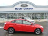 2012 Race Red Ford Focus SE Sport Sedan #90369620