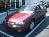 2001 Dark Carmine Red Metallic Chevrolet Impala  #9018495