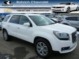 2013 Summit White GMC Acadia SLT AWD #90369890