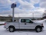 2014 Ingot Silver Ford F150 XL SuperCab 4x4 #90369543