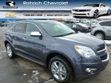 2014 Atlantis Blue Metallic Chevrolet Equinox LT AWD #90369885