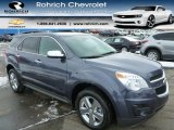 2014 Atlantis Blue Metallic Chevrolet Equinox LT AWD #90369882