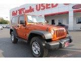 2011 Mango Tango Pearl Jeep Wrangler Sport 4x4 #90369472
