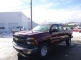 2014 Deep Ruby Metallic Chevrolet Silverado 1500 WT Double Cab 4x4 #90369608