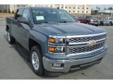 2014 Blue Granite Metallic Chevrolet Silverado 1500 LT Crew Cab #90369812