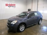 2014 Atlantis Blue Metallic Chevrolet Equinox LS #90408940