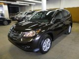 2014 Kona Coffee Metallic Honda CR-V EX-L AWD #90408591