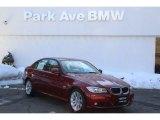 2011 Vermillion Red Metallic BMW 3 Series 328i xDrive Sedan #90408507
