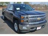 2014 Tungsten Metallic Chevrolet Silverado 1500 LTZ Crew Cab 4x4 #90408852