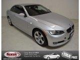 2009 Titanium Silver Metallic BMW 3 Series 328i Convertible #90408758