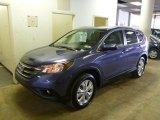 2014 Twilight Blue Metallic Honda CR-V EX-L AWD #90444870