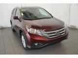 2014 Basque Red Pearl II Honda CR-V EX-L #90444800