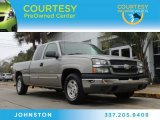 2003 Light Pewter Metallic Chevrolet Silverado 1500 LS Extended Cab #90467064