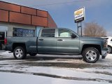 2014 Blue Granite Metallic Chevrolet Silverado 1500 LT Z71 Crew Cab 4x4 #90467062