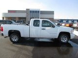 2008 Summit White Chevrolet Silverado 1500 Work Truck Extended Cab #90467308