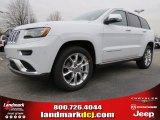 2014 Bright White Jeep Grand Cherokee Summit #90467135