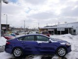 2013 Deep Impact Blue Metallic Ford Fusion SE 1.6 EcoBoost #90467100
