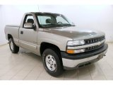 2000 Light Pewter Metallic Chevrolet Silverado 1500 LS Regular Cab 4x4 #90494273