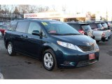 2011 South Pacific Blue Pearl Toyota Sienna LE #90494140