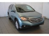 2014 Mountain Air Metallic Honda CR-V EX-L #90493955