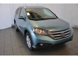 2014 Mountain Air Metallic Honda CR-V EX-L #90493954