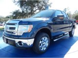 2014 Blue Jeans Ford F150 XLT SuperCab #90494070