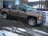 2014 Brownstone Metallic Chevrolet Silverado 1500 LT Crew Cab 4x4 #90493976