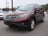 2013 Basque Red Pearl II Honda CR-V EX-L #90494124