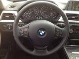 2014 BMW 3 Series 320i xDrive Sedan Steering Wheel