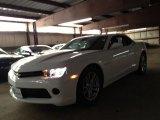 2014 Summit White Chevrolet Camaro LS Coupe #90494107