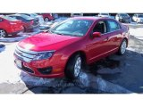 2011 Red Candy Metallic Ford Fusion SE V6 #90494026