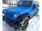 2011 Cosmos Blue Jeep Wrangler Unlimited Sport 4x4 #90527596