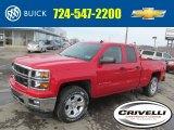 2014 Victory Red Chevrolet Silverado 1500 LT Z71 Double Cab 4x4 #90527587