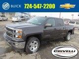 2014 Tungsten Metallic Chevrolet Silverado 1500 LT Z71 Crew Cab 4x4 #90527578