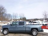 2014 Blue Granite Metallic Chevrolet Silverado 1500 LT Crew Cab 4x4 #90527717