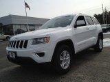 2014 Bright White Jeep Grand Cherokee Laredo 4x4 #90527276