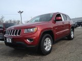 2014 Deep Cherry Red Crystal Pearl Jeep Grand Cherokee Laredo 4x4 #90527265
