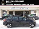 2012 Tuxedo Black Metallic Ford Focus SE Sport Sedan #90527397