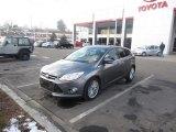 2012 Sterling Grey Metallic Ford Focus SEL 5-Door #90527250