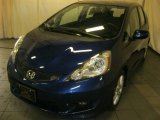 2011 Vortex Blue Pearl Honda Fit Sport #90527614