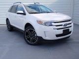 2014 White Platinum Ford Edge SEL #90527464