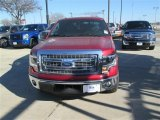 2014 Ruby Red Ford F150 XLT SuperCrew #90561340