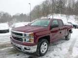 2014 Deep Ruby Metallic Chevrolet Silverado 1500 LT Z71 Double Cab 4x4 #90561544