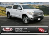 2014 Super White Toyota Tundra Limited Crewmax 4x4 #90561245