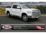 2014 Super White Toyota Tundra 1794 Edition Crewmax 4x4 #90561243