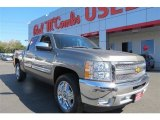 2013 Graystone Metallic Chevrolet Silverado 1500 LT Crew Cab #90561382