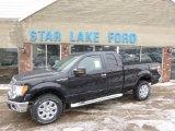2014 Tuxedo Black Ford F150 XLT SuperCab 4x4 #90561726